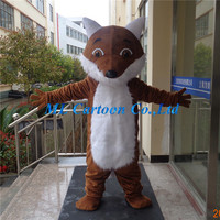 Long plush fox holiday Mascot Cotumes business promotion mascot costume