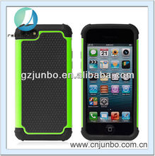 Hot selling 2 in 1 silicon football phone case for iphone 5c