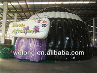 New design clear inflatable lawn tent for sale