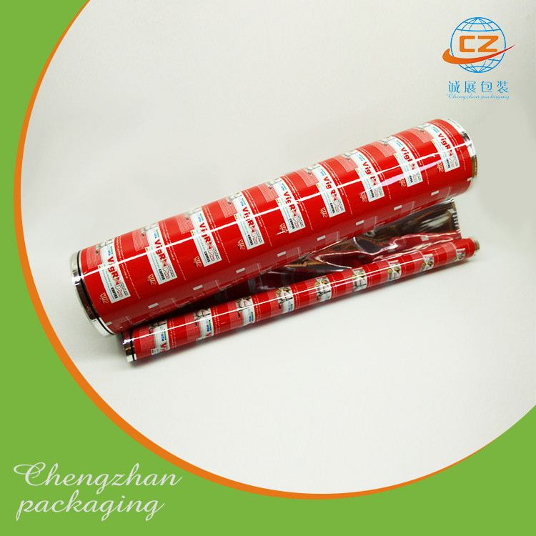 Popsicle wrapper laminated material plastic film rolls