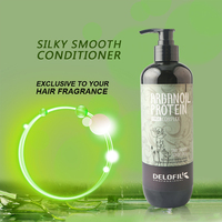 Delofil color protect anti knot hair weight loss softness organic conditioner