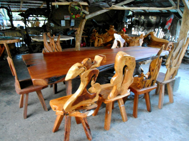 10 Seater Rosewood Dining Table Set