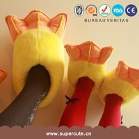 Wholesale unique have different 3 animal foot design doctor slipper