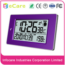 Hot style digital desktop electronic wave clock with led big display