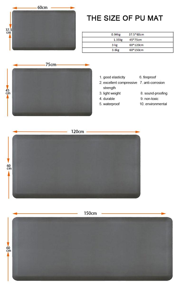 PU flooring mat