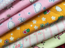 cotton flannel fabrics printed fast color guaranteed