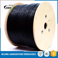 underground telephone ftp cat5e networking with power cable