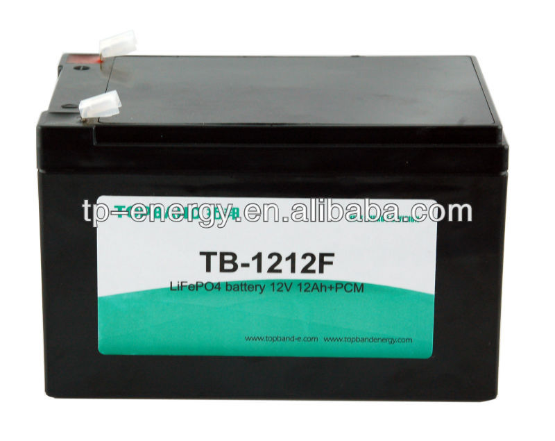 lifepo4 battery 12v 12ah with factory price