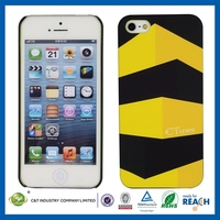 Water transfer printing belt clip pc case for iphone 5