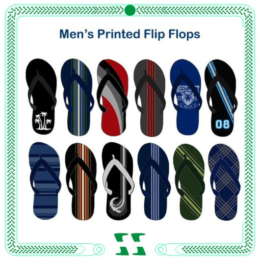 New fashion the national flag flip flop slipper