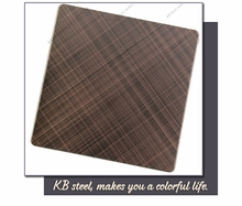 hairline color decorative sus 310s stainless steel sheet 1.6mm Brush finish