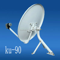 ku band 90cm satelite dish antenna (digital tv antenna)tv antenna for car
