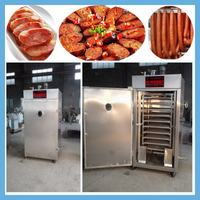 2015 China factory supply industrial sausage meat smoker/meat smoker machine