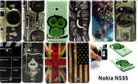 New camera dollars flag printing Flower TPU Case Cover for Nokia Lumia 535