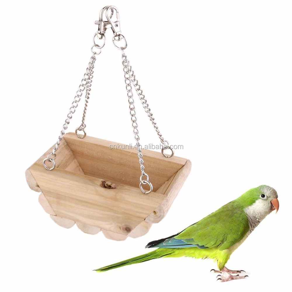 Hanging Boat Swing Mouse Parrot Bird Cat Hamster Bed Cage Toys and Accessory