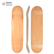 MS3704 7.75inch/8inch/8.25inch 7 Ply 100 Canadian Maple Wood Skateboard Deck Blank