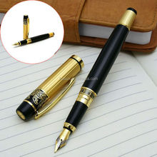 High quality promotional logo carved lamy fountain pen