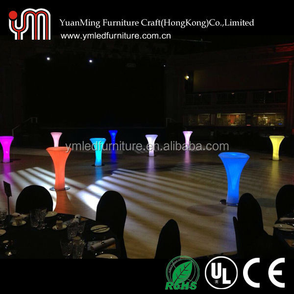 Modern Remote Control Led Coffee Table,Color Changing Cofee table