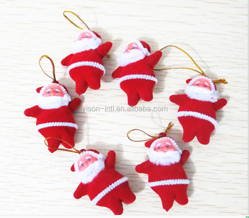Little red santa claus christmas tree pendant christmas for Where can i buy a red christmas tree