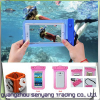 Universal PVC Waterproof Bag Underwater Pouch Diving Case For Mobile iPhone ,Waterproof Case for iphone 6 6 Plus