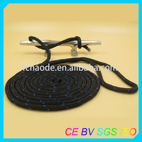 8-20mm nylon/polyester/pp braided dock line with spliced eye