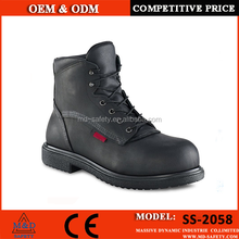 Industrial red wing safety shoes guardrite men work oil safety shoes