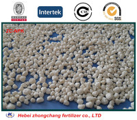 low price Compound fertilizer classification 60% NPK 20-20-20 white granular state