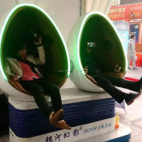 cool 9d vr egg shape 2 seat 9dvr cinema