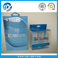 Custom small clear pvc plastic box wholesale