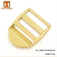30mm Metal adjustable shoulder strap buckle for web
