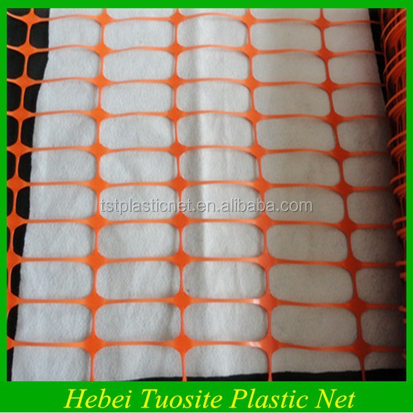 Good Quality Plastic Orange Outdoor Fence Temporary Fence