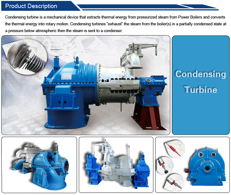 Medium Temperature & Pressure Steam Turbine