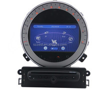 ZESTECH new cheap touch screen car dvd player for MINI Cooper protable multimedia gps navigation
