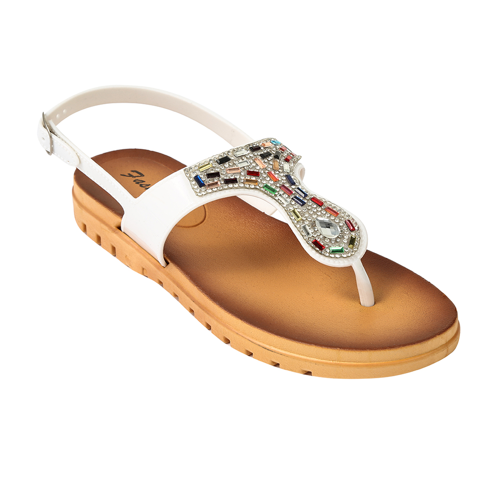 Latest designs outdoor women flat <strong>sandals</strong> fashion rhinestone <strong>sandals</strong>