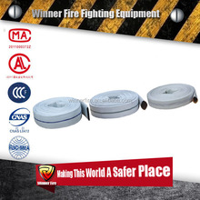 Flexible durable PVC/PU/Rubber line High quality polyester high pressure Fire Truck Hose