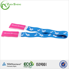 ZHENSHENG elastic exercise band yoga strap with loops