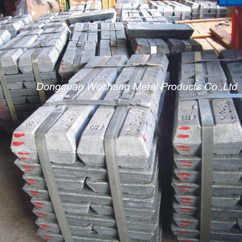 zinc ingot 99.995% best price and super sales