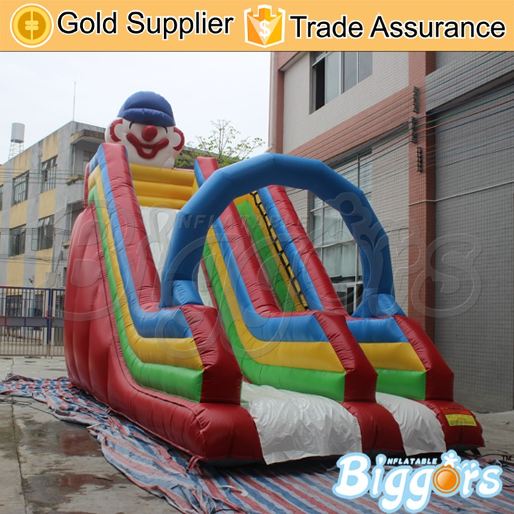Factory Make Crown Inflatable Slide Slider with Archway