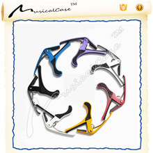 High-end music instrument accessories alloy lightweight portable color electric acoustic guitar capo