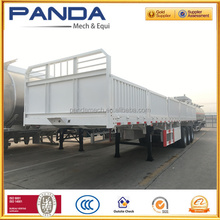 PANDA Hot Sale 3-Axle Flatbed Cargo Side Wall Panel of Livestock Trailer