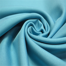 Most popular bright garment use poly trilobal fabric satin fabric