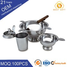 China supplier removable round moroccan stainless steel ashtray