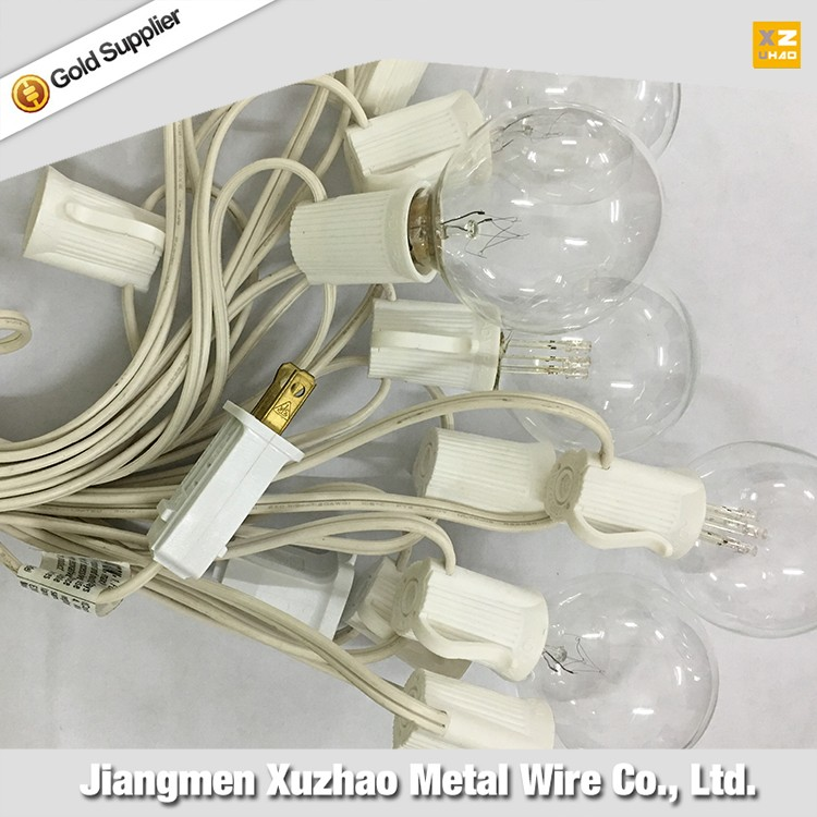 china wholesale custom UL certificate G50 globe led glass bulb