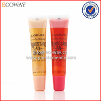 2016 best selling fancy colorful lip gloss plastic lip gloss tube empty lip gloss containers