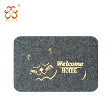 A wide variety anti slip bath mat TPR backing exhibition carpet