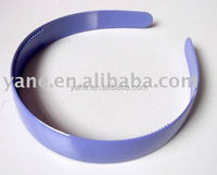 2016 most popular plastic hair band, plastic headband Small order is acceptable
