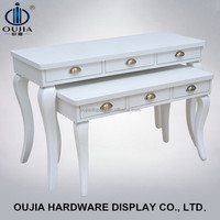 tiered table display stand/tabletop stand/clothes shop furniture