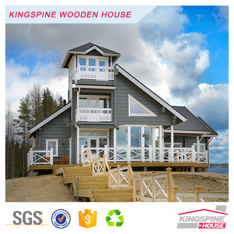 wooden kit wooden villa summer holiday house