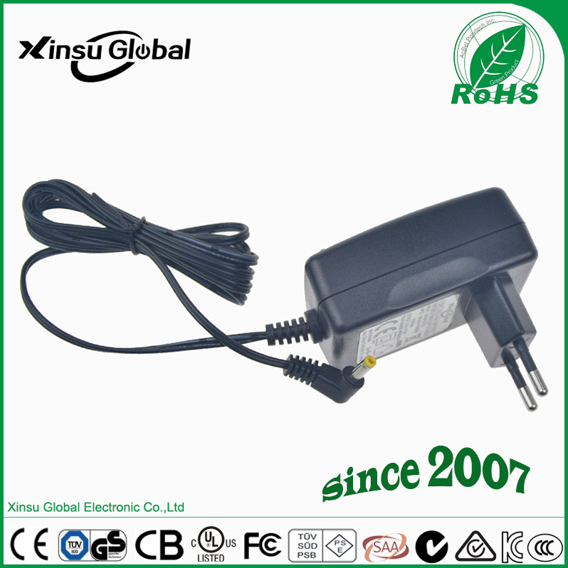 CE certificated EU plug type CCTV power supply 12V2A adapter