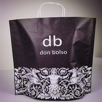 New design customize kraft paper bag for retailing/ cost-saving&eco-friendly product with good price